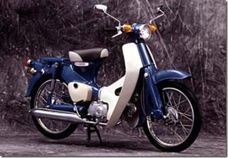 Honda C50_dame 1966