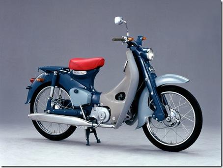 hondasupercub c100 1958