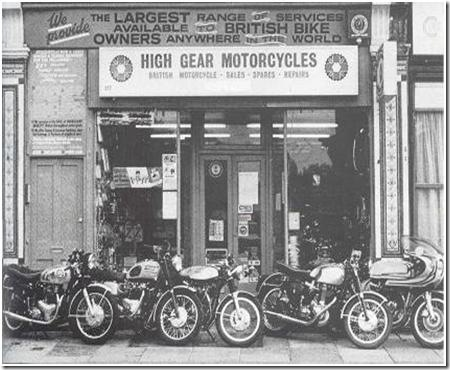 Cafe Racer History